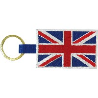 BRUSHUP STANDARD キーホルダー FLAG KEY HOLDER UK BUS051 [正規代理店品]