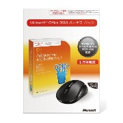 Microsoft Office Home and Business 2010 ボーナスパック アップグレード優待【Wireless Mobile Mouse 4000同梱】