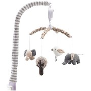 Lolli Living Musical Mobile, Elephants by Lolli Living [並行輸入品]