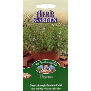 HE 英国ミスターフォザーギルズシード Mr.Fothergill's Seeds HERB GARDEN Thyme タイム