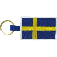 BRUSHUP STANDARD キーホルダー FLAG KEY HOLDER SWE BUS055 [正規代理店品]
