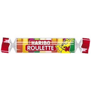 HARIBO - ハリボー - ROULETTE Einzelrolle -25g - 0,88 oz - ルーレット単一ロール-25g - 0.88オンス