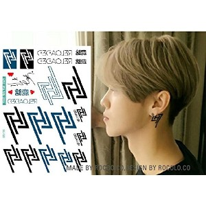 ボディーアート タトゥーシール EXO Sticker Tattoo - StickerCollection