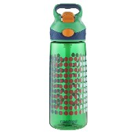 Contigo Autospout Striker Kids Water Bottle, 20-Ounce, India Green [並行輸入品]