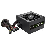 Corsair CX600M 80PLUS BRONZE 600W PC 電源ユニット PS557 CP-9020060-JP