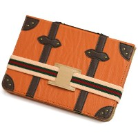 SINRA DESIGN WORKS Trolley Case トローリーケース for iPad mini(オレンジ)