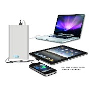 Lizone® Extra Pro プロスーパー容量60000mAh ポータブル外付け バッテリー 充電器 パワーバンク Apple MacBook Air / MacBook Pro /...