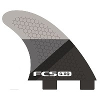 FCS FIN GX-Q SMOKE SLICE REAR FINSET FCS クアッド用リア フィン