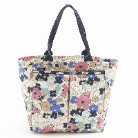 LeSportsac レスポートサック トートバッグ 7891 Everygirl Tote D833 Ocean Blooms [並行輸入商品]