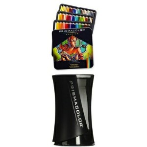 Prismacolor プリズマカラー 色鉛筆 72色 シャープナー付 Prismacolor Premier Colored Pencils 72 Pack with Pencil...