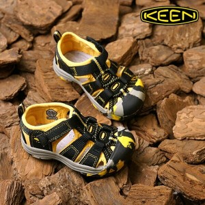 KEEN キーン キッズ トドラー サンダル Newport H2 TOTS ニューポート エイチツー Crushed Keen Yellow (1014734 SS16)【コンビニ受取対応商品】...