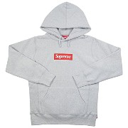 SUPREME シュプリーム 16AW Box Logo Hooded Sweatshirt BOXロゴパーカー 灰 M