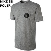 Nike QT S+ Poler X SB Pocket T-Shirt Dark Grey Heather M Tシャツ 並行輸入品