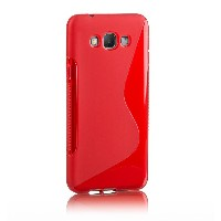 GALAXY A8 TPU グリップデザインケース ( au SCV32 by SAMSUNG ギャラクシー A8 対応 ) Grip Design Cover Case 落下防止 ソフト軽量...