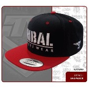 TRIBAL STREET WEAR スナップバック キャップ【STENCIL SNAP BACK】 BLACK/RED