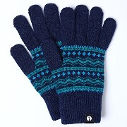 iTouch Gloves アイタッチグローブ Patterns タッチパネル対応 手袋 Turquoise iTG-015-TQ/Lsize