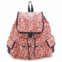 LeSportsac レスポートサック リュックサック 7839 Voyager Backpack D842 TRAVEL DAISY RED [並行輸入商品]