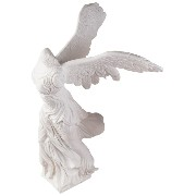 Design Toscano Nike of Samothrace (190 BCE) (Winged Victory) Bonded Marble Statue [並行輸入品]