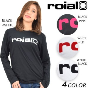 SALE セール 20%OFF レディース 長袖 Tシャツ roial ロイアル GTS358 EE1 A9
