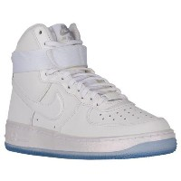 (取寄)ナイキ レディース エア フォース 1 ハイ Nike Women's Air Force 1 High White White Matte Silver Blue Tint