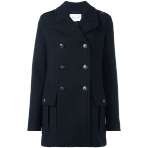 Pierre Balmain - double breasted coat - women - アクリル/ポリエステル/ビスコース/other fibers - 40