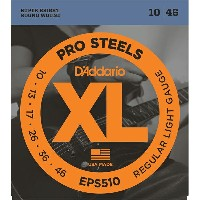 EPS-510【税込】 ダダリオ エレキギター弦 (Regular Light .010-.046) D'Addario XL ProSteels Round Wound [EPS510DADDARI...