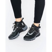 Nike Air Presto Mid Utility Trainers In Black スニーカー ASOS(エイソス) バイマ BUYMA
