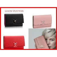Louis Vuitton★CAPUCINESコンパクト財布3色♪パリ Louis Vuitton(ルイヴィトン) バイマ BUYMA