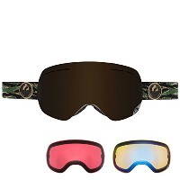 15-16 2016 DRAGON GOGGLE X1s Hunter Dark Smoke + Yellow Blue Ionized & Rose 【Asian Fit】 722-5568...