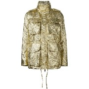 Dsquared2 textured military jacket