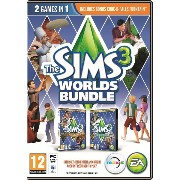 The Sims 3: Worlds Bundle (PC DVD) (輸入版)