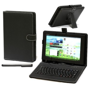 Navitech タブレット 用 キーボードブック式ケース (Sony Xperia Tablet Z2)