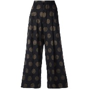 Uma Wang dotted cropped trousers