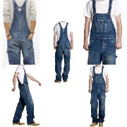 Lee リー AMERICAN RIDERS OVERALLS LM4254-546 M