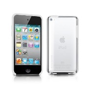 TUNEWEAR 第4世代iPod Touch対応ハードケース TUNESHELL RubberFrame for iPod touch 4G ホワイト TUN-IP-000138