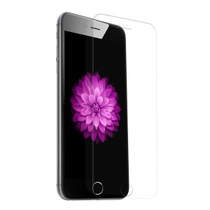 QQPOW iPhone 6s / iphone 6 全面保護 液晶保護フィルム ガラスフィルム 日本製素材 3Dタッチ対応 薄さ0.33mm 硬度9H (iPhone 6 / 6s, クリア)