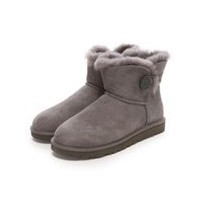 【SALE 20%OFF】アグ UGG Mini Bailey Button(グレー)