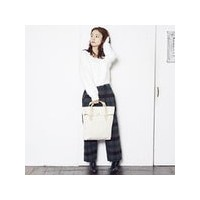 サンダック SUNDUCK TOP FOLD TOTE (OFF WHITE)