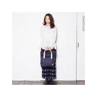 サンダック SUNDUCK TOP FOLD TOTE (NAVY)