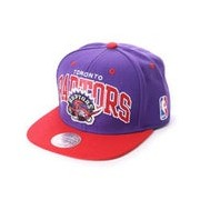 【SALE 20%OFF】ミッチェル アンド ネス MITCHEL & NESS atmos 2 TONE TEAM ARCH SNAPBACK (PURPLE)