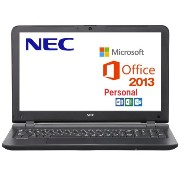 【Win7・Win10 Pro選択】NEC VersaPro VF PC-VK17EFWX4RRN Windows7 Professional 64bit Celeron 4GB 500GB...