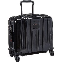 TUMI V3 COMPACT CARRY-ON 4 WHEEL BRIEFCASE コンパクト キャリーオン 4ウィール ブリーフケース 0228004 Black(D) [並行輸入品]