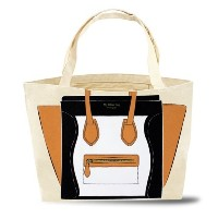 My Other Bag ( マイ アザー バッグ ) アメリカ の トートバッグ CARRYALL MADISON BWT tan black タン ブラック バック made in USA 鞄...