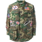 Htc Hollywood Trading Company military patch jacket