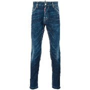Dsquared2 Cool Guy whiskered effect jeans