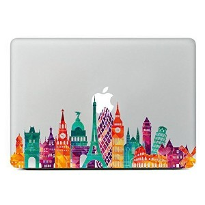Last Innovation European architecture Removable Vinyl Decal Sticker Skin for Macbook Pro Air Mac 13...