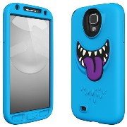 SwitchEasy GALAXY S4 SC-04E用シリコンケース MONSTERS for Samsung GALAXY S4 Wicky ブルー SW-MONG4-BL-JP