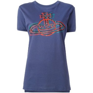 Vivienne Westwood Anglomania - ロゴプリント Tシャツ - women - コットン - S
