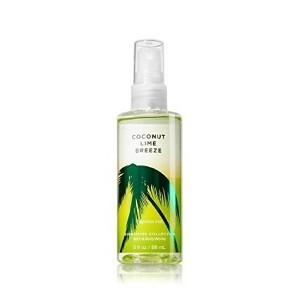 Bath and Body Works Coconut Lime Breeze Fragrance Mist Travel-Size 3oz(88ml) / バス&ボディワークス ココナッツライムブリ...