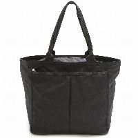 LeSportsac レスポートサック トートバッグ 7891 EveryGirl Tote 5982 BLACK SOLID [並行輸入商品]